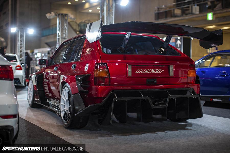 1993 Carbon Widebody Lancia Delta Integrale Evo II Tuning 29 Irre: 1993 Carbon Widebody Lancia Delta Integrale Evo II