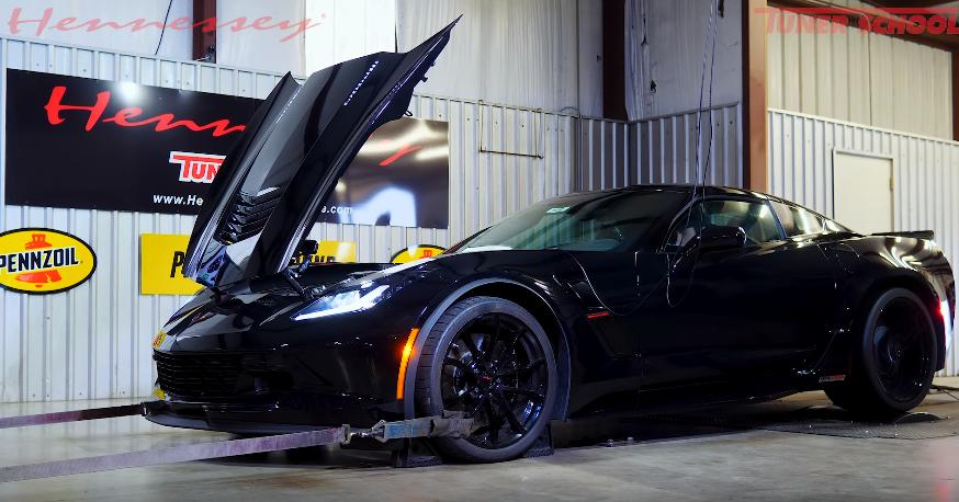 2018 Chevrolet Corvette Grand Sport HPE1000 Video: 2018 Chevrolet Corvette Grand Sport HPE1000