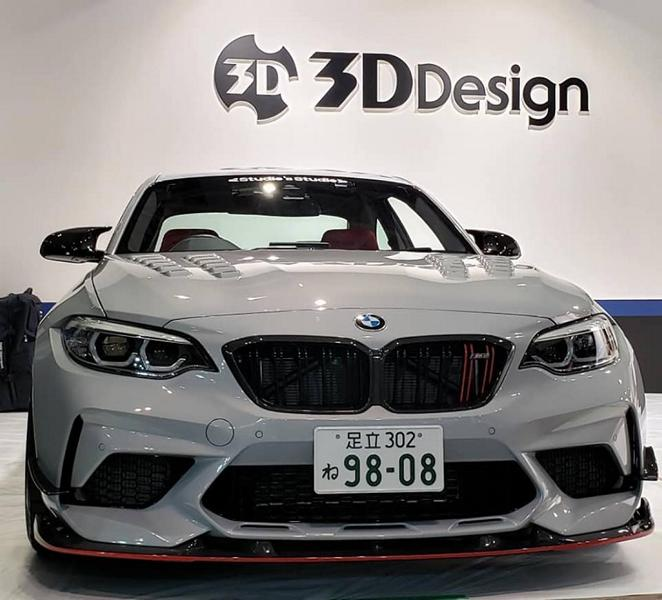 3D Design Bodykit BMW M2 Competition F87 2019 Tuning (1)