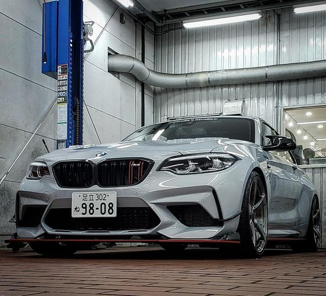 3D Design Bodykit BMW M2 Competition F87 2019 Tuning (2)