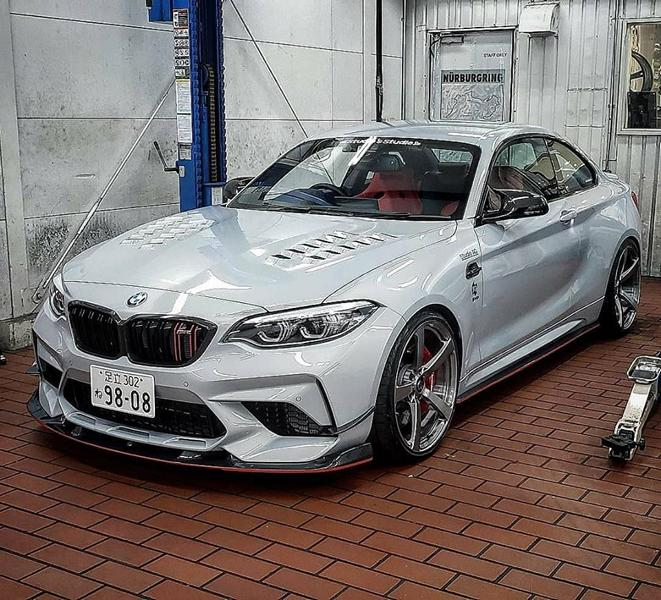 3D Design Bodykit BMW M2 Competition F87 2019 Tuning (6)