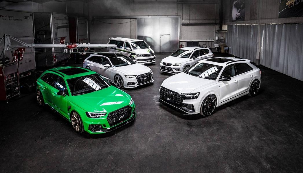 ABT Sportsline Audi RS4 Acid green tuning 2019 1 50 Stück: ABT Sportsline Audi RS4+ mit 530 PS & 690 NM