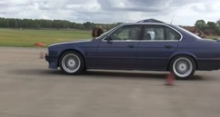 Alpina B10 Bi Turbo E34 vs. B8 V8 E36 310x165 Video: Dragrace Alpina B10 Bi Turbo E34 vs. B8 V8 E36