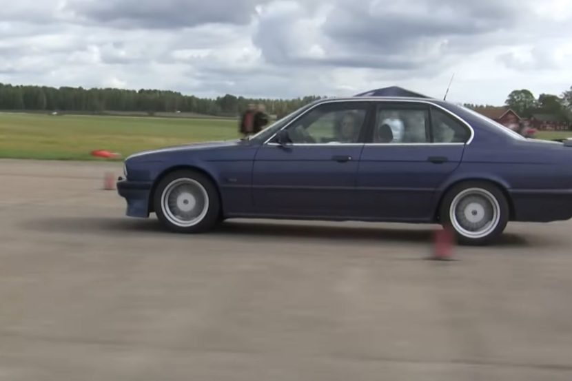 Alpina B10 Bi Turbo E34 vs. B8 V8 E36 Video: Dragrace   Alpina B10 Bi Turbo E34 vs. B8 V8 E36
