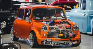 Austin Mini Honda B16 GT3076R Widebody Tuning 20 e1548401246447 310x165 Bad Boy   Ford Mustang GT Widebody mit Air lift Airride