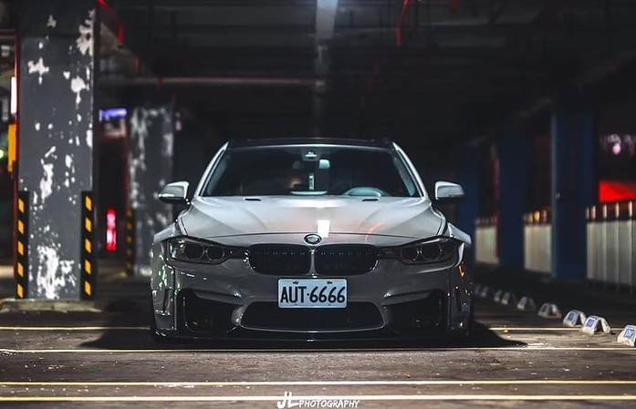 Fierce Bmw 3er Touring F31 With Clinched Widebody Kit