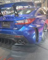 Carbon Widebody Kit NOVEL Lexus RC F Tuning 1 155x194 Fett: Carbon Widebody Kit von NOVEL am Lexus RC F