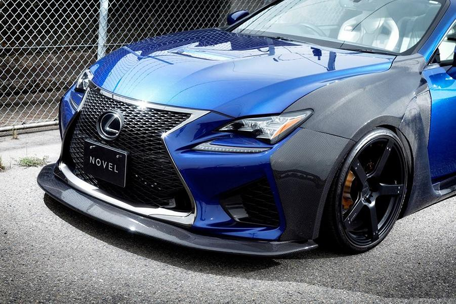 Carbon Widebody Kit NOVEL Lexus RC F Tuning 14 Fett: Carbon Widebody Kit von NOVEL am Lexus RC F