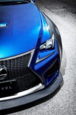 Carbon Widebody Kit NOVEL Lexus RC F Tuning 15 155x233 Fett: Carbon Widebody Kit von NOVEL am Lexus RC F