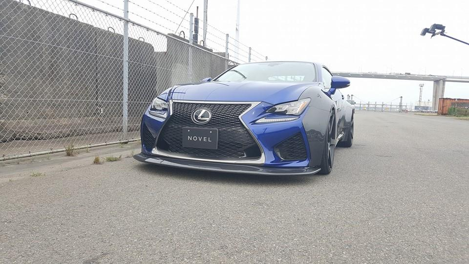 Carbon Widebody Kit NOVEL Lexus RC F Tuning 16 Fett: Carbon Widebody Kit von NOVEL am Lexus RC F