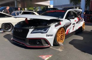 Clinched Audi RS7 Widebody Ferrada F8FR6 Tuning 12 310x205 Hardcore: 700 PS Audi RS7 Widebody auf Ferrada Alus