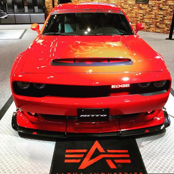 Edge Customs Dodge Challenger SRT Demon Widebody Tuning 1 Oberhammer: Edge Customs Dodge Challenger SRT Demon