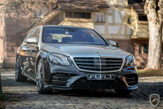 Facelift W222 Mercedes S Klasse A.R.T. Tuning Bodykit 2018 2 e1548314250158 Elegant: Facelift Mercedes S Klasse (W222) von A.R.T. Tuning