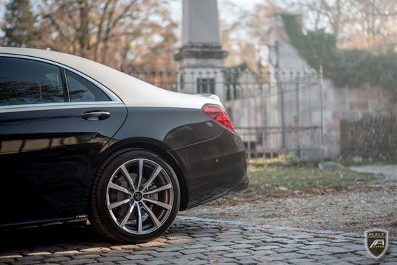 Facelift W222 Mercedes S Klasse A.R.T. Tuning Bodykit 2018 5 Elegant: Facelift Mercedes S Klasse (W222) von A.R.T. Tuning