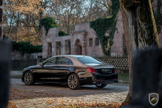 Facelift W222 Mercedes S Klasse A.R.T. Tuning Bodykit 2018 6 Elegant: Facelift Mercedes S Klasse (W222) von A.R.T. Tuning