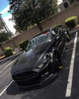 Ford Mustang GT Widebody Airlift Airride Tuning 2 155x194 Bad Boy   Ford Mustang GT Widebody mit Air lift Airride