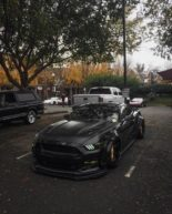 Ford Mustang GT Widebody Airlift Airride Tuning 23 155x193 Bad Boy   Ford Mustang GT Widebody mit Air lift Airride