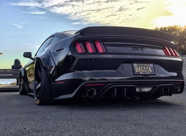 Ford Mustang GT Widebody Airlift Airride Tuning 26 1 e1548917336211 Bad Boy   Ford Mustang GT Widebody mit Air lift Airride