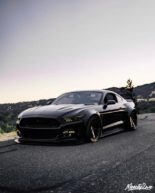 Ford Mustang GT Widebody Airlift Airride Tuning 4 155x193 Bad Boy   Ford Mustang GT Widebody mit Air lift Airride