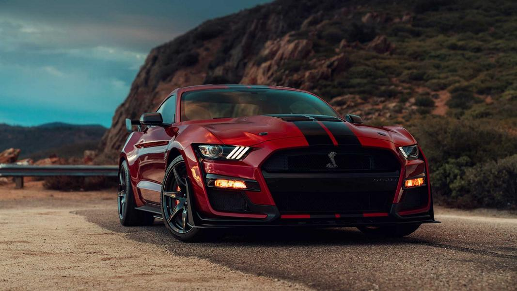 Ford Mustang Shelby GT500 2019 Tuning V8 28 770 PS! 2019 Ford Mustang Shelby GT 500 Widebody vorgestellt