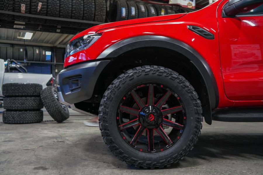 Ford Ranger Raptor Autobot 20 Zoll Offroad Tuning 12 Offroad Stollen auf 20 Zoll! Ford Ranger Raptor by Autobot