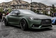 Infiniti Q60 Widebody Ferrada F8FR7 Tuning 10 190x128 Infiniti Q60 Widebody mit RS Optik & Airride Fahrwerk