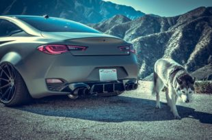 Infiniti Q60 Widebody Ferrada F8FR7 Tuning 8 310x205 Infiniti Q60 Widebody mit RS Optik & Airride Fahrwerk