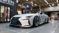 Lexus LC500 Rowen International Carbon Bodykit Tuning 2019 1 190x107 Elegant: Lexus LC500 mit Rowen International Carbon Bodykit