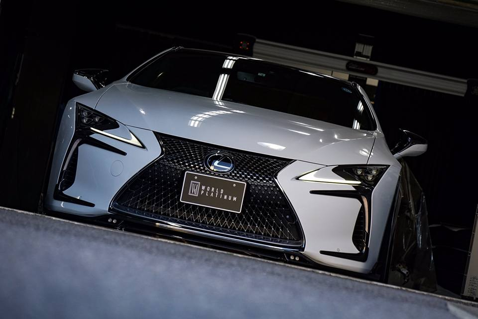 Lexus LC500 Rowen International Carbon Bodykit Tuning 2019 2 Elegant: Lexus LC500 mit Rowen International Carbon Bodykit