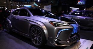 Lexus Modellista UX Concept Widebody 2019 Tokyo Tuning 29 310x165 Fett: Carbon Widebody Kit von NOVEL am Lexus RC F
