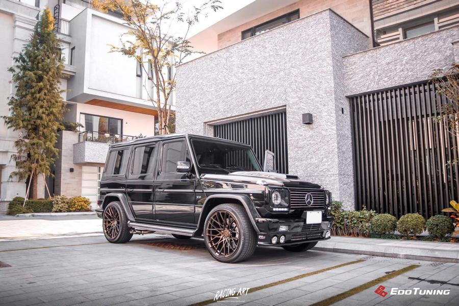 Marmor Bodykit Pur Wheels Mercedes G500 W463 Tuning 1 Marmor Optik u. Pur Wheels am Mercedes G500 (W463)