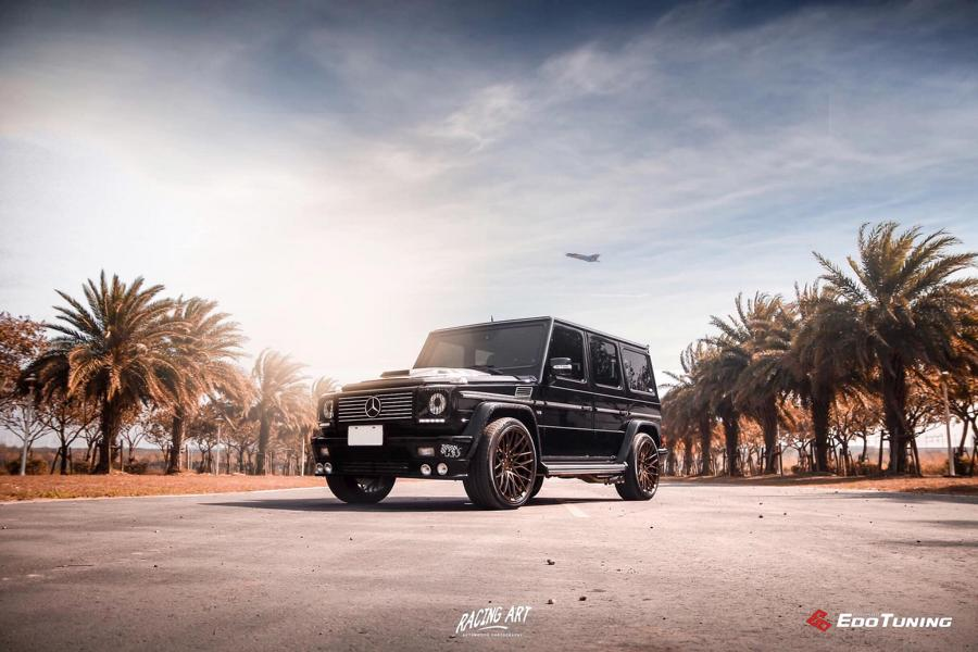 Marmor Bodykit Pur Wheels Mercedes G500 W463 Tuning 11 Marmor Optik u. Pur Wheels am Mercedes G500 (W463)