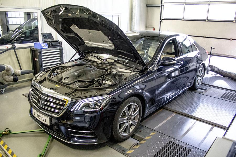 Mercedes Benz S450 EQ Boost W222 DTE Chiptuning Pedalbox 1 Mercedes Benz S450 EQ Boost (W222) mit DTE Power
