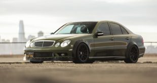 Mercedes E55 AMG W211 V8 Driftcar Tuning 33 310x165 Video: Dragrace   Alpina B10 Bi Turbo E34 vs. B8 V8 E36