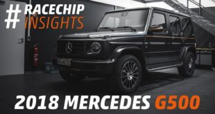 Mercedes G Klasse W463 G500 RaceChip 310x165 Video: 650 PS im RaceChip Porsche Panamera Turbo 2019