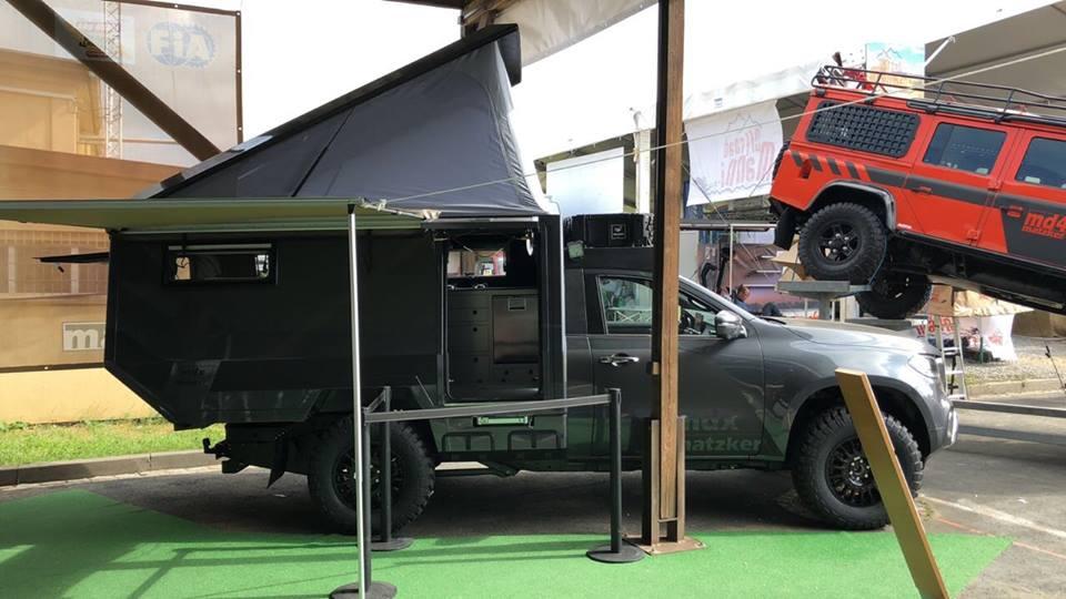 Mercedes X Klasse MDX Camper Matzker KFZ Technik Tuning 8 Mercedes X Klasse MDX Camper von Matzker KFZ Technik