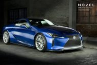 Novel Lexus LC Carbon Bodykit Tuning 3 190x127 Fett: Carbon Widebody Kit von NOVEL am Lexus RC F