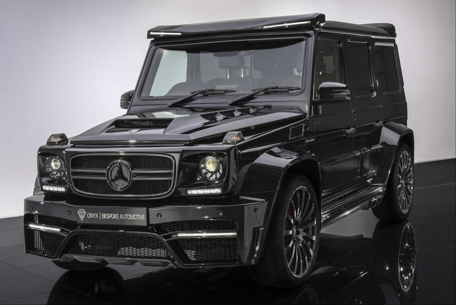 ONYX G7 Widebody Mercedes Benz G63 AMG Tuning 1 720 PS ONYX G7 Widebody Mercedes Benz G63 AMG