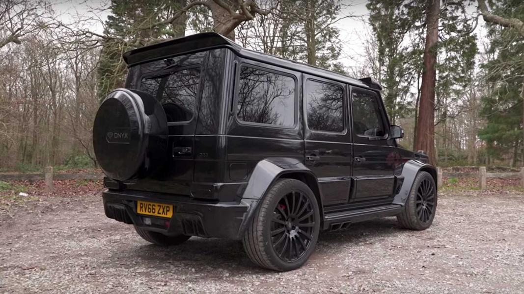 ONYX G7 Widebody Mercedes Benz G63 AMG Tuning 16 720 PS ONYX G7 Widebody Mercedes Benz G63 AMG
