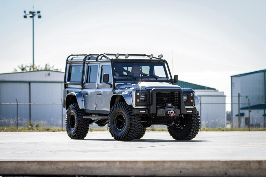 Project Viking Land Rover Defender 110 Widebody LC9 V8 Tuning 1 Project Viking   Defender 110 V8 extrem vom Tuner ECD