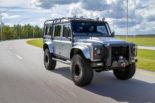 Project Viking Land Rover Defender 110 Widebody LC9 V8 Tuning 22 155x103 Project Viking   Defender 110 V8 extrem vom Tuner ECD
