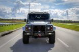 Project Viking Land Rover Defender 110 Widebody LC9 V8 Tuning 23 155x103 Project Viking   Defender 110 V8 extrem vom Tuner ECD