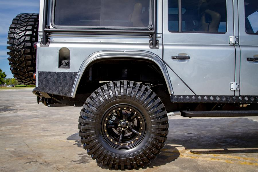 Project Viking Land Rover Defender 110 Widebody LC9 V8 Tuning 26 Project Viking   Defender 110 V8 extrem vom Tuner ECD