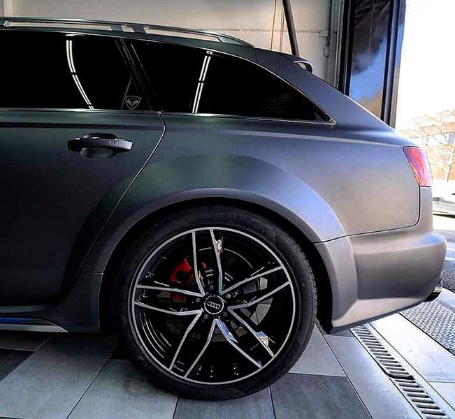 RS6 Style Bodykit Atarius Concept Audi A6 8 RS6 Style Bodykit von Atarius Concept für den Audi A6