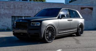 Rolls Royce Cullinan RDB LA 26 Zoll Forgiato Tuning 1 310x165 Video: Flott   BMW M340i (G20) gegen M2 Competition