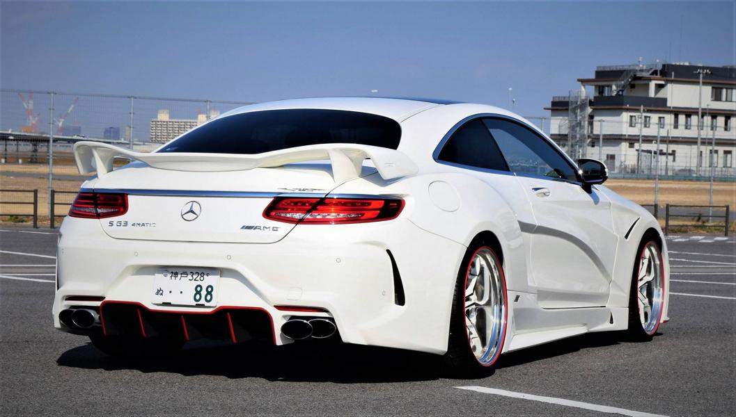 VITT Squalo Widebody Mercedes S Coupe C217 Tuning 20 Gewaltig: VITT Squalo Widebody Mercedes S Coupe (C217)