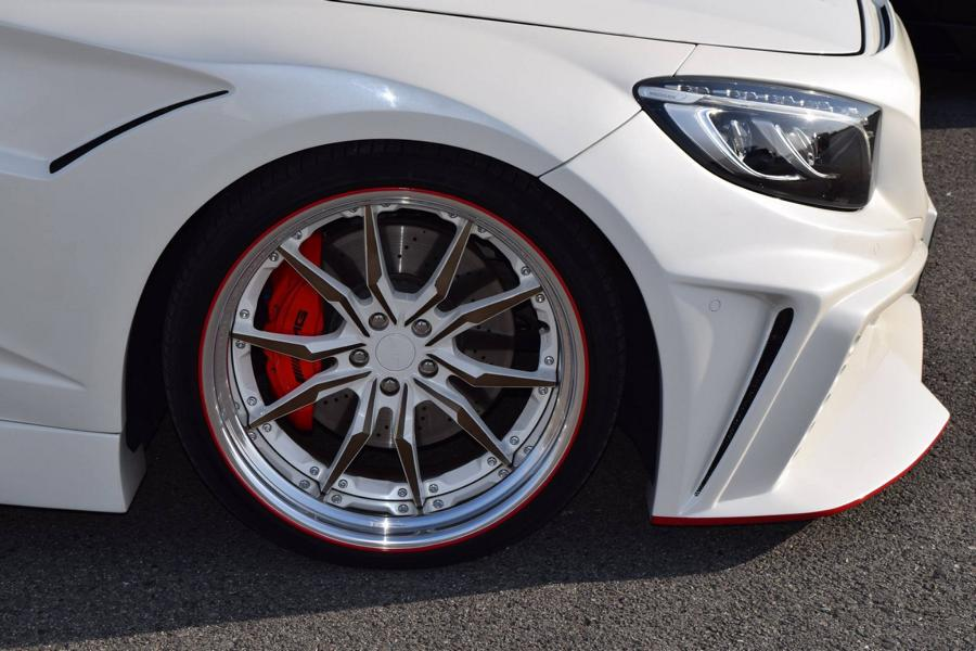 VITT Squalo Widebody Mercedes S Coupe C217 Tuning 25 Gewaltig: VITT Squalo Widebody Mercedes S Coupe (C217)