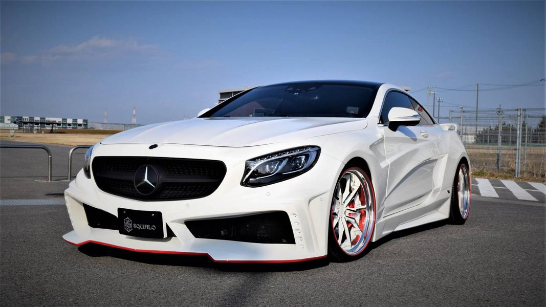 VITT Squalo Widebody Mercedes S Coupe C217 Tuning 8 Gewaltig: VITT Squalo Widebody Mercedes S Coupe (C217)