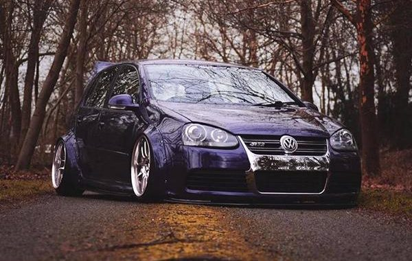 VW Golf R32 Clinched Bodykit airride Work Wheels Tuning 3 1 e1546496331137 Extrem tief & breit: VW Golf R32 mit Clinched Bodykit