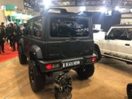 Wald Black Bison Widebody Suzuki Jimny 2019 Tuning 3 190x143 Fertig! Wald Black Bison Widebody Suzuki Jimny 2019